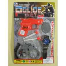 144 Units of POLICE FORCE ASSORTED SET - Toy Weapons