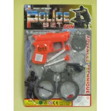 144 Units of POLICE FORCE  PLAY SET - Toy Weapons