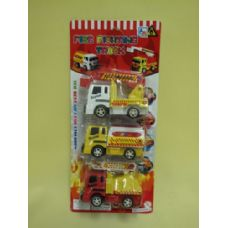 144 Units of FIRE FIGHTING TRUCKS SET FOR KIDS - Cars, Planes, Trains & Bikes