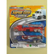 144 Units of SUPER CITY TRUCK  PLAY SET - Cars, Planes, Trains & Bikes