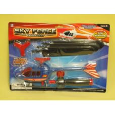 72 Units of HELICOPTER SET - Cars, Planes, Trains & Bikes