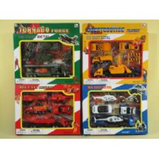 96 Units of DIECAST SET FOR KIDS - Cars, Planes, Trains & Bikes