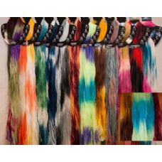 72 Units of Tie Dye Design Light Weight Scarves in Assorted Colors - Womens Fashion Scarves