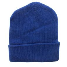 36 Units of Light Navy Winter Beanie Hat 12 Inch - Winter Beanie Hats