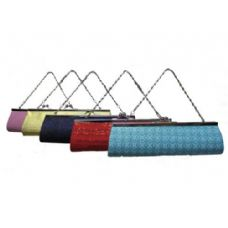 60 Units of Snap Close Clutch Purse-Assorted - Leather Purses and Handbags