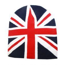 36 Units of British Flage Winter Beanie Hat - Winter Beanie Hats