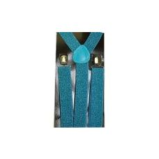 48 Units of SUSPENDERS IN SHIMMERY BLUE