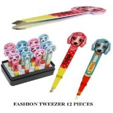 144 Units of ANIMAL DISIGN TWEEZER - Scissors / Tweezers