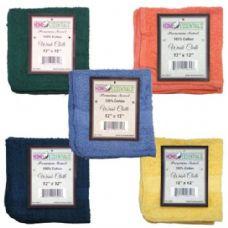 144 Units of Towel Hand Terry 12x12 2PK - Bath Towels