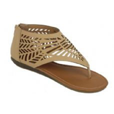 18 Units of Ladies Summer Fashion Sandals in Khaki Color - Women's Sandals