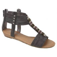 18 Units of Ladies Fashion Sandals in Grey