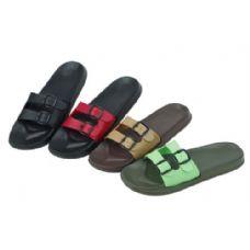 48 Units of Ladies Solid Color Sandals - Women's Sandals