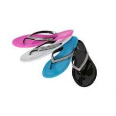 48 Units of Women's Isadora Fashion Jelly Flip Flop