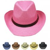 36 Units of WESTERN COWBOY HAT MIX COLOR - Cowboy & Boonie Hat