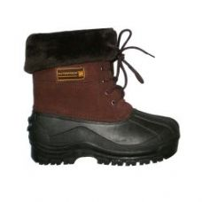 12 Units of Ladies Rain Boot In Brown - Women's Boots