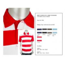 24 Units of Mens Fashion Polo Shirts Unfinished Stitching Jersey - Mens Polo Shirts