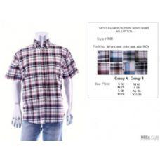 48 Units of Mens Fashion Button Down Shirts 60% Cotton Size Scale B Only - Men's Work Shirts