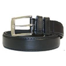36 Units of Mens General Leather dress Belt In Black - Mens Belts