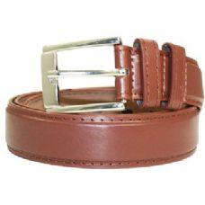 36 Units of Mens Dress General Leather Belt In Brown - Mens Belts