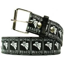 120 Units of Hecho En Mexico Printed Belt