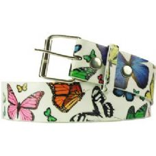 72 Units of Butterfly Printed Belt