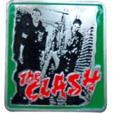 96 Units of The Clash Belt Buckle - Belt Buckles