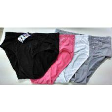 96 Units of PLUS SIZE Ladies Lace Top Underwear  Panty - Womens Panties / Underwear