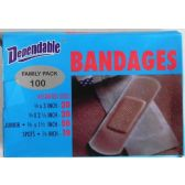 48 Units of Bandages 100 Family Pack - Best Selling items