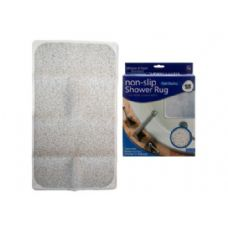 "12 Units of 28"" x 17"" Non-Slip Shower Rug - Bathroom Accessories"