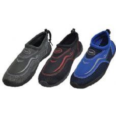 36 Units of Boys Acqua Shoes Assorted Color - Boys Flip Flops & Sandals