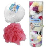 144 Units of Wholesale Bulk - Loofahs & Scrubbers
