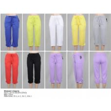 72 Units of Terry Capri Pants - Womens Capri Pants