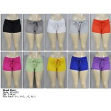 144 Units of Terry Plain Short - Womens Shorts