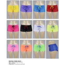144 Units of Women's Mesh Shorts - Womens Shorts