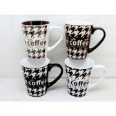 48 Units of Wholesale 11 ounce Ceramic Coffee Mug Coffee  Design - Best Selling items