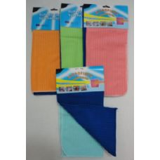 36 Units of 2pk MicroFiber Cleaning Towels - Bath Towels