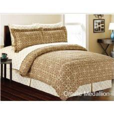 4 Units of Manhattan Lights 8 Piece Bed N Bag cal king size - Bedding Sets
