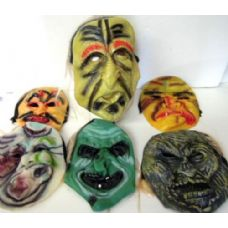 96 Units of Scary Face Masks - Costume Accessories