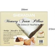 6 Units of Memory Foam Contour Pillow - Pillows