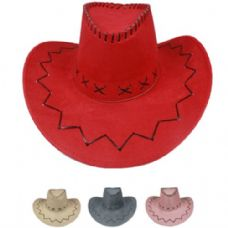 24 Units of WESTERN COWBOY HAT MIX - Cowboy, Boonie Hat