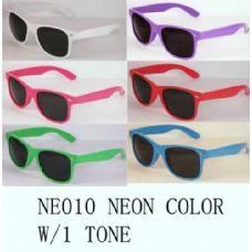 48 Units of Designer Inspired Neon Color Sunglasses