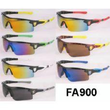 48 Units of Man Sports sunglasses Mirror Lens assorted colors