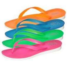 Wholesale Bulk Women's Neon Flip Flops