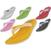 36 Units of Women's Sport Thong Sandals