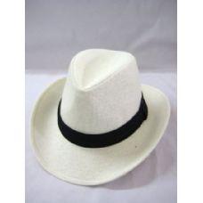 36 Units of Cowboy Hat In White - Cowboy, Boonie Hat