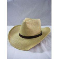 36 Units of Khaky Western Cowboy Hat - Cowboy, Boonie Hat
