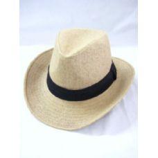 36 Units of Fashion Cowboy Hat In Beige - Cowboy, Boonie Hat