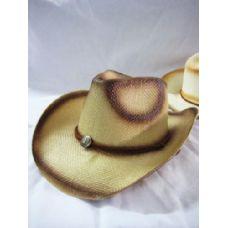 36 Units of Western Style Cowboy Hat - Cowboy, Boonie Hat