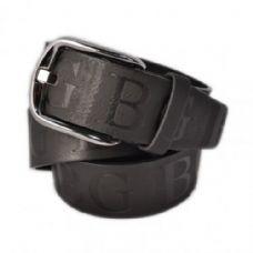 60 Units of Mens Fashion All Black Belt - Mens Belts