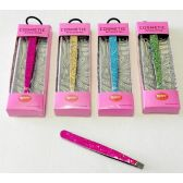 48 Units of Bling Glitter Eyebrow Tweezer - Cosmetics